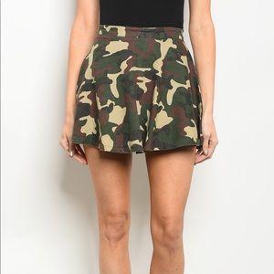Dresses & Skirts - Camouflage Skater Skirt